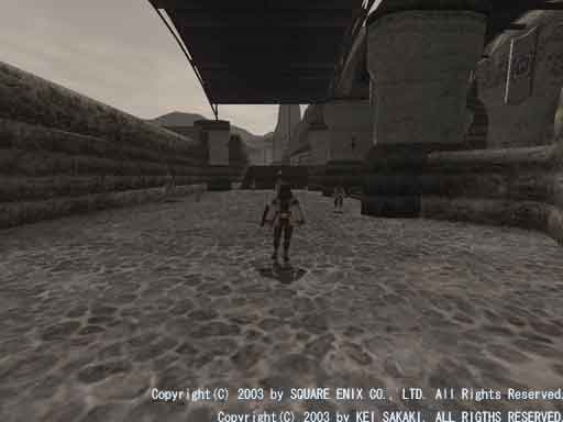 ForceWareでBumpMap有効時のスクリーンショット(2)