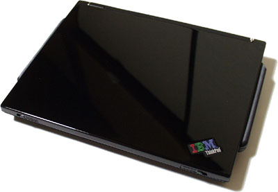 ThinkPad i series s30ラップを取った後
