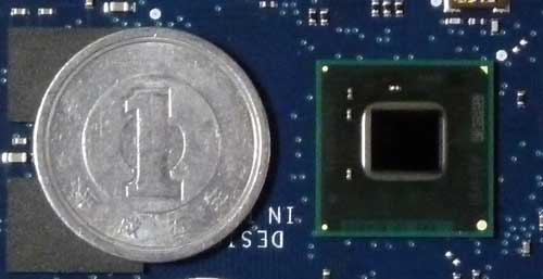 Quark SoC X1000と1円玉