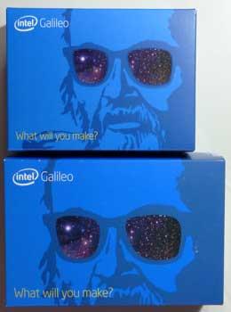 Galileoの2つのバージョンの箱を比較