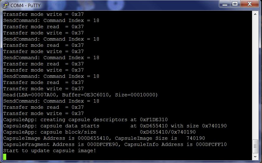 SPI Flash Update