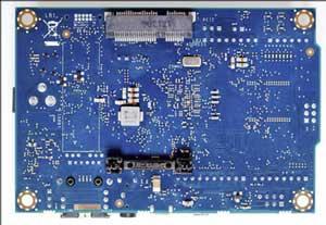 Intel® Galileo Boardの見た目(裏)