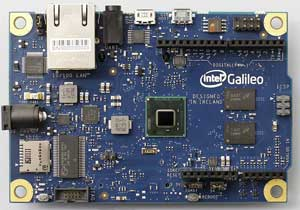 Intel® Galileo Boardの見た目(表)