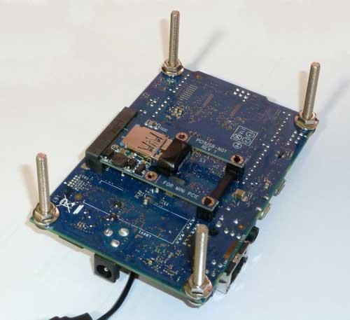 GalileoボードへProject M MINIPCIE2USB2を装着