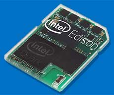 SDカード型のIntel Edison