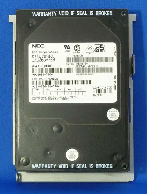 NECブランドSeagate DKU363-720