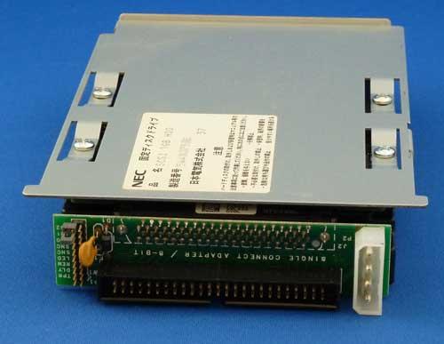 IBM製DNES-309170SCAをSCSI Narrow化