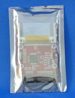 Compact FlashをSerial ATA接続にするアダプター(袋入り)