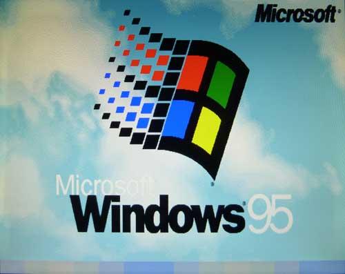 NEC PC-98用Windows 95の起動中2