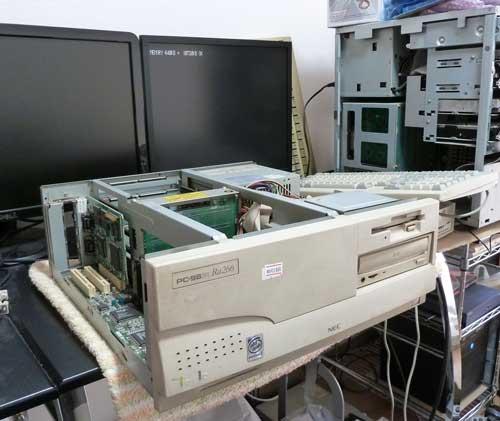 PC-9821Ra266が正常起動
