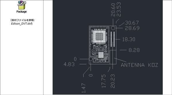 DXFによるレイアウト