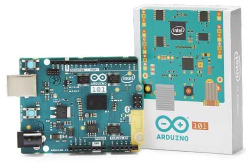 Arduino 101のボードと箱 その1