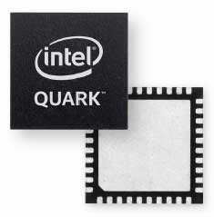 Intel Quark microcontroller D2000のイメージ