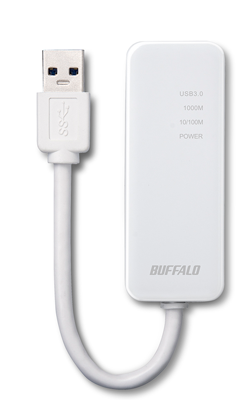 BUFFALO Gigabit Ethernetアダプター LUA4-U3-AGT